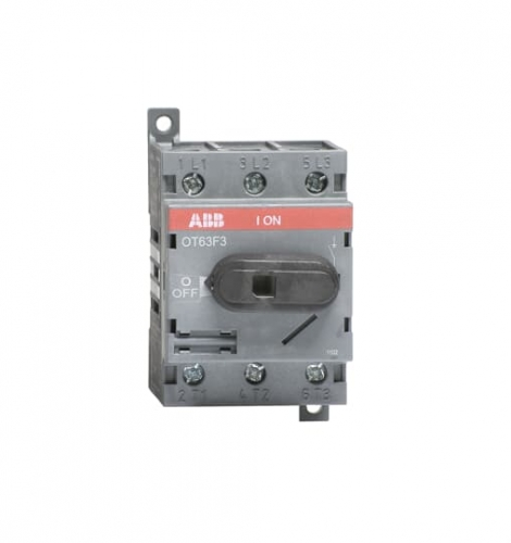 Normally Open Fusible Diconnect Switch 3 Pole