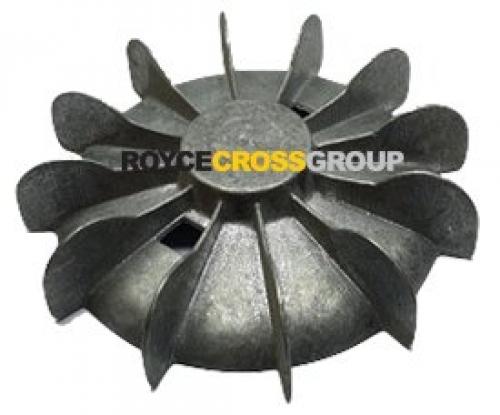 Fan Blade D100 Aluminium 165mm OD x 46mm hub blank Bore