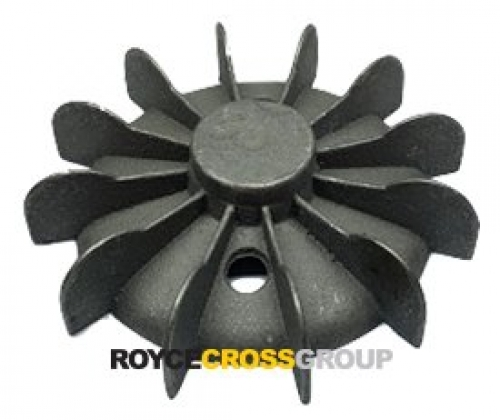 Fan Blade D80 Aluminium 127mm OD x 32mm hub blank bore