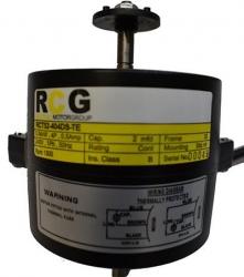 RCG RCT52 1/20H Pole 1 Phase 4 Pole 1300RPM 40W Double Shaft 440v Fridgemaster