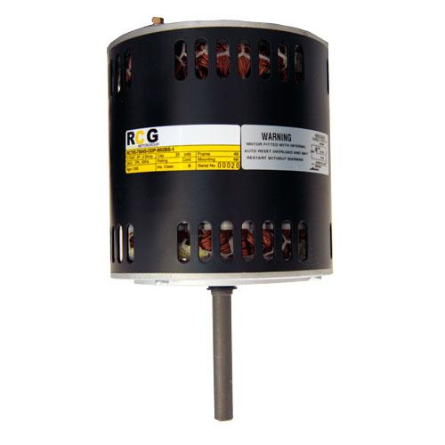RCG 85 250W V/S extended NDE-shaft, rear-end shield tacho groove