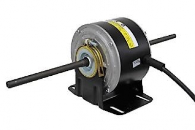 RCG RCT85 40W 900RPM 1 Phase 6 Pole 3 Speed Double Shaft Blower Motor