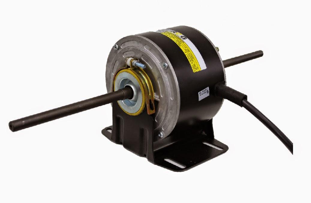 RCG RCT85 750W 1360RPM 3 Speed Resilient Mount Double Shaft 1 Phase 4 Pole Blowe