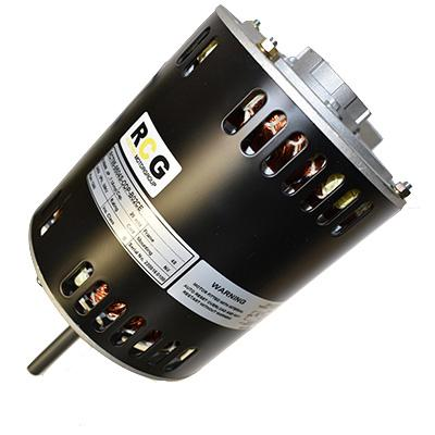 RCG RCT85 750W 4 Pole B48 Turbo Band Mount Shaft Down