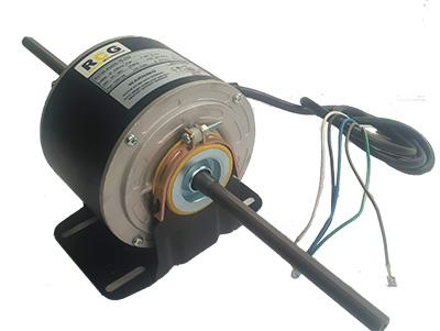 RCG RCT85 80W 1350/1160RPM 2 Speed Double Shaft Blower Motor