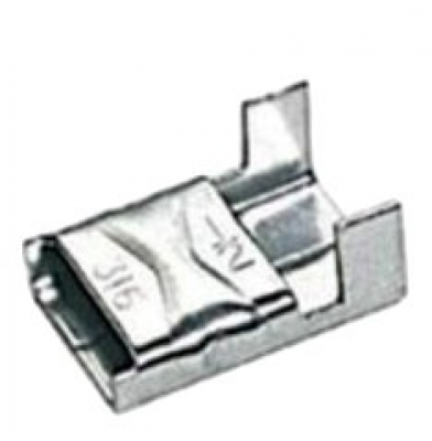 Wing-Type Buckle (SS304) Suits 9.5mm Banding - 100 pack
