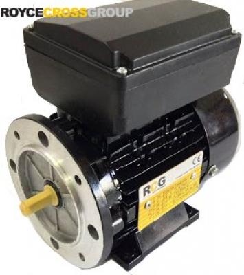RCG alloy D56 0.06kW 4p TEFC B5 flange mount 1 phase 240V IP55 cap run