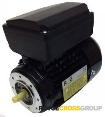 RCG alloy D56 0.06kW 4P TEFC B14A flange mount 1 phase 240V IP55 cap run