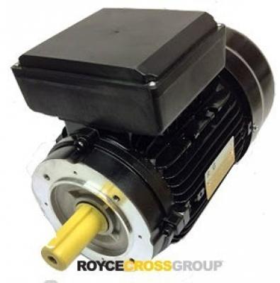 RCG alloy D63 0.12kW 4p TEFC B14A flange mount 1 phase 240V IP55 cap run