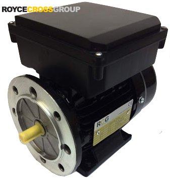 RCG alloy D63 0.18kW 2p B35 foot flange mount 1 phase 240V IP55 motor