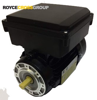 RCG Alloy ML63 0.18kW 2P TEFC B14A Flange Mount 1 Phase 240V IP55 CSCR Electric