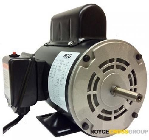 "RCG B48 0.18kW 6P ODP B3 Foot Mount PSC 240V Steel 1/2"" Shaft Motor Comes With 1"