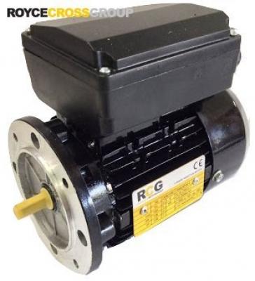 RCG Alloy D63 0.24kW 4P B5 flange mount 1 phase 240v IP55 PSC