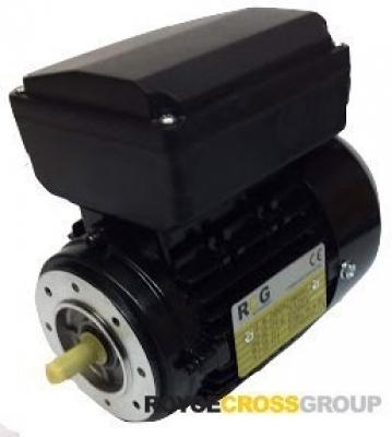 RCG alloy D63 0.24kW 4p B14A flange mount 1 phase 240V IP55 PSC