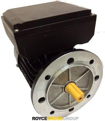 RCG alloy D71 0.37kW 2p B5 flange mount 1phase 240V IP55 electric motor