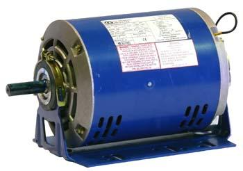 "CG GF6285 B56 0.55kW 4p ODP B3 resilient base mount 1 ph 240V 5/8"" shaft motor"