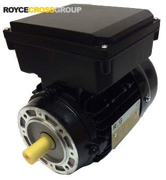 RCG alloy D71 0.55kW 2p B14A flange mount 1 phase 240V IP55 motor