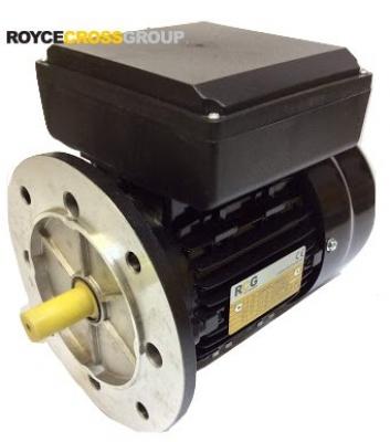 RCG alloy D80 0.75kW 2p B5 flange mount 1 phase 240V IP55