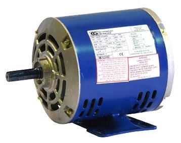 CG GF7640 B56 0.75kW 4P ODP B3 foot mount CSCR 1 phase 240V motor