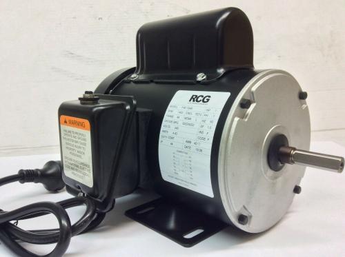 RCG B48 0.75kW 4P TEFC B3 foot mount PSC 240V steel 1/2 shaft