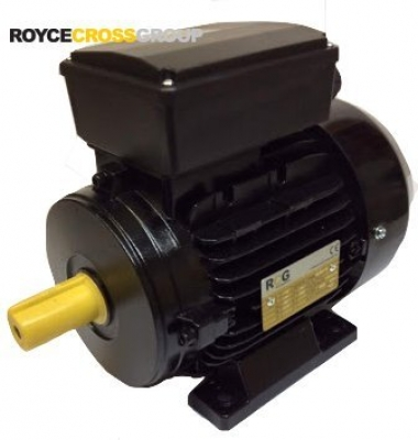 RCG Alloy MY90S 1.1kW 4P TEFC B3 Foot Mount 1 Phase 240v PSC IP55 Electric Motor