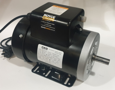 CEG B56 1.1kW 4P TEFC 1PH B3 Foot Mnt CSCR 240v Roll Steel Electric Motor 3/4 Sh