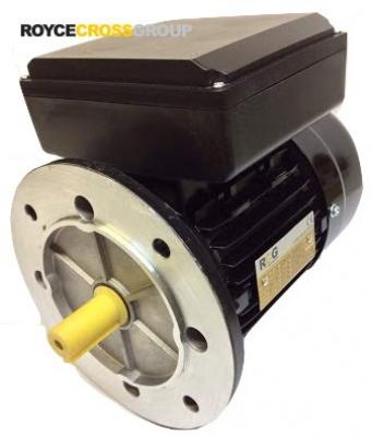 RCG alloy D80 1.1kW 2p B5 flange mount 1 phase 240V IP55