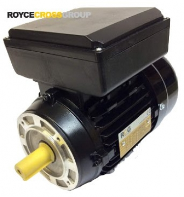 RCG Alloy ML80 1.1kW 2P TEFC B14A Flange Mount 1 Phase 240V IP55 CSCR Electric M