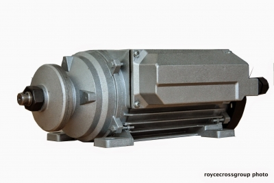 RCG alloy flat saw 1.5kW 2800rpm 2p B3 foot mount 1ph 240V motor
