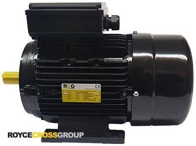 RCG Alloy ML112M 3kW 4P TEFC B3 Foot Mount 1 Phase 240/480V IP55 CSCR Electric M