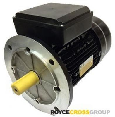 RCG alloy D112M 4kW 2p B5 flange mount 1 phase 240V IP55 motor