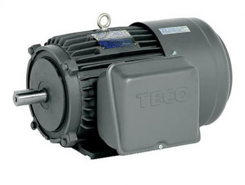 Teco D132M 7.5kW 4P 1 Phase TEFC F B3 Foot Mount 240/480v Single Phase Electric