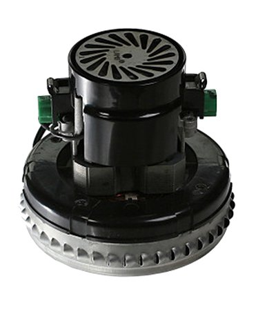 145mm diameter single stage bypass vacuum motor - peripheral discharge