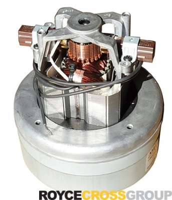 145mm diameter two-stage flow-through vacuum motor 240V