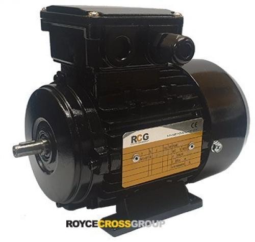 RCG alloy D56 0.12kW 4p TEFC F B3 foot mount 415/3/50 IP55 - 9mm shaft