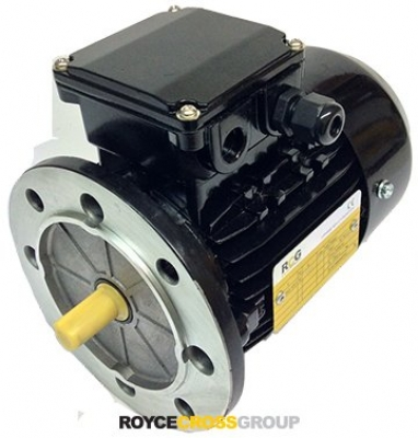RCG alloy D63 0.12kW 6p B5 TEFC flange mount 415/3/50 IP55 - 11mm shaft