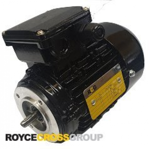 RCG Alloy D63 0.12kW 4P B14A TEFC F Flange Mount 415/3/50 IP56 Electric Motor 11