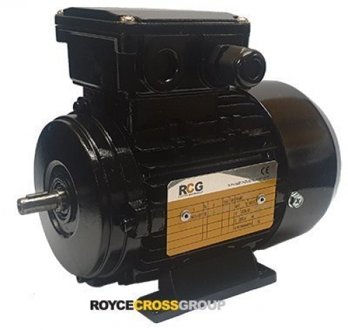 RCG Alloy MS63 0.18kW 4P TEFC F B3 Foot Mount 415/3/50 IP55 Electric Motor 11mm