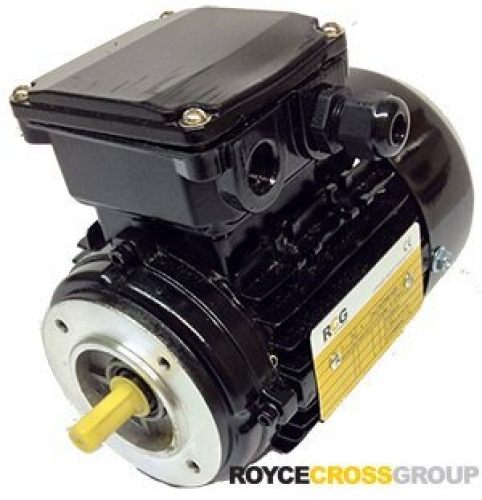 RCG Alloy MS63 0.18kW 4P B14A TEFC F Flange Mount 415/3/50 IP55 Electric Motor 1
