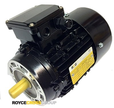 RCG Alloy D71 0.18kW 6P B14A TEFC Flange Mount 415/3/50 IP55 Electric Motor 14mm