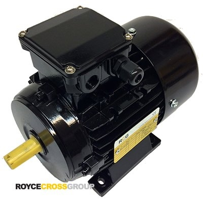 RCG Alloy MS71 0.25kW 6P TEFC F B3 Foot Mount 415/3/50 IP55 Electric Motor 14mm