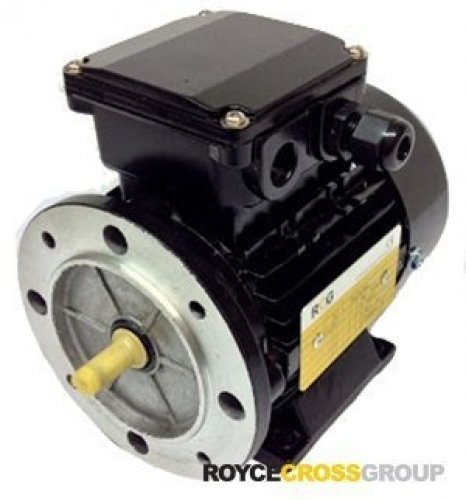 RCG Alloy MS63 0.37kW 2P TEFC F B3 Foot Mount 415/3/50 IP55 Electric Motor 11mm