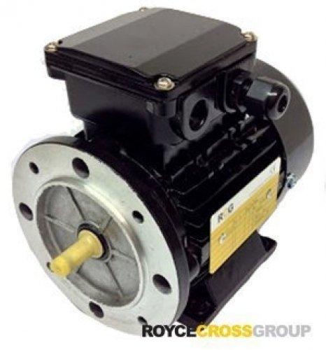 RCG Alloy D80 0.55kW 4P B14A TEFC Flange Mount 415/3/50 IP55 Electric Motorshaft