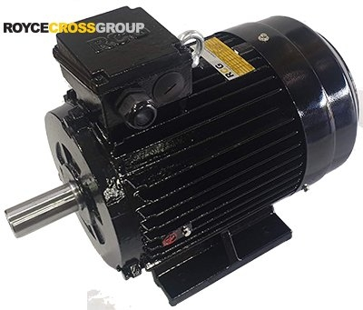 RCG CI IP55 132M 3kW 8P TEFC F B3 Foot Mount 415/3/50 Cast Iron Electric Motor 3
