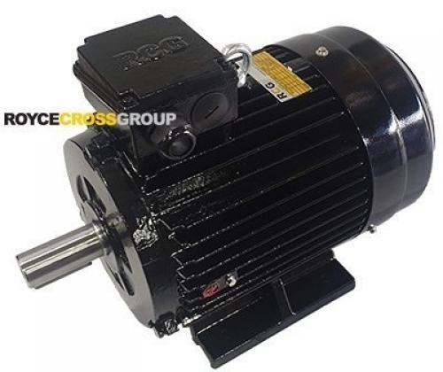 RCG Cast Iron IP55 D250M 75kW 2P B3 Foot Mount 415/3/50 60mm Shaft Electric Moto
