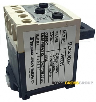 TSBSS05 Shock Relay SS Series 0.5-5A90-250vAC