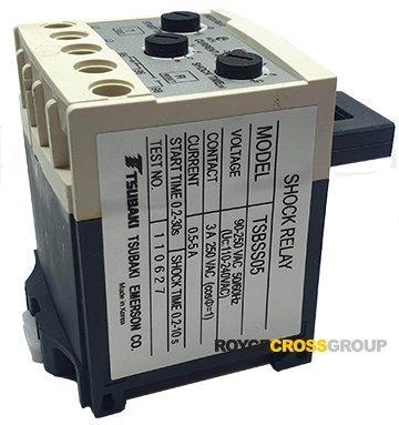 TSBSS30 Shock Relay SS Series 3-30A200-240vAC Control