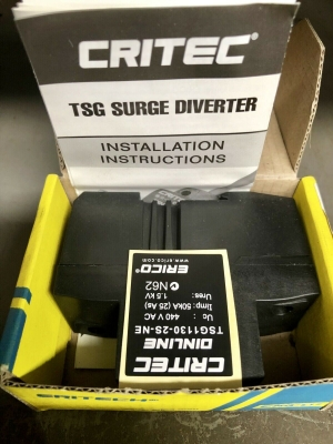 Triggered Spark Gap Diverter 130kA / 240v