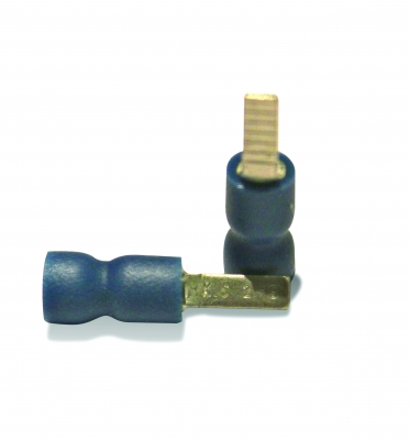 Blue flat blade 9 x 2.8mm - 100 pack