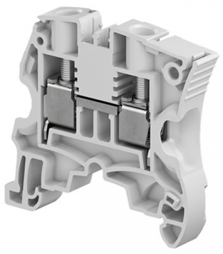 ZS10 screw clamp terminal block - feed through - 10mm2